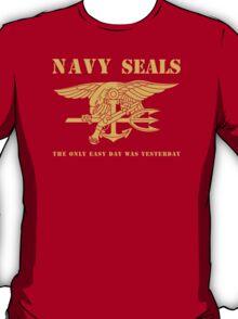 Navy SEALs Stencil T-Shirt