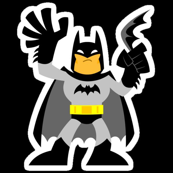 """""""Batsy Black"""" Sticker by DrWow"""