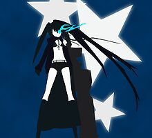 Black Rock Shooter Case by Swirlz