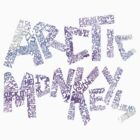 Arctic Monkeys (purple) by merched