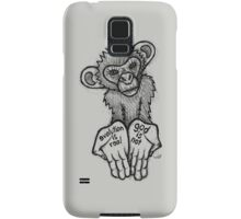 Evolution Is Real, God Is Not Samsung Galaxy Case/Skin