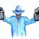 Raylan Givens from Justified Cards and Prints by gothscifigirl