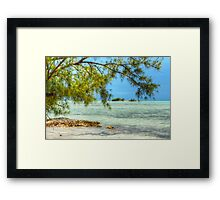 Paradise on Earth at Coral Harbour in Nassau, The Bahamas Framed Print