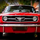 """Ford Mustang 65 """"The Red Pony"""" by htrdesigns"""