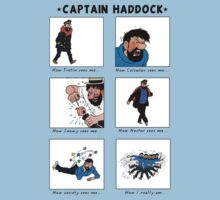 Captain Haddock Meme by rafstardesigns