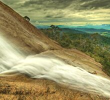 Water over granite, Mount Buffalo by Kevin McGennan