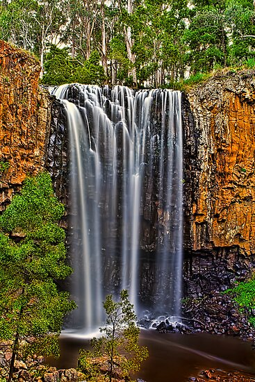 Trentham Falls by Matt Jones