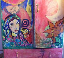 enchanted priestess cabinet by madeline8