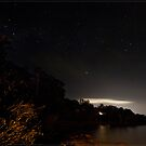 Second Beach Sky @ Night by Chris Cohen