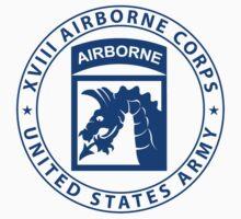 XVIII Airborne Sky Dragons Kids Clothes