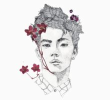 SHINee JongHyun Flower Boy by shineegalore