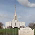 Jordan River LDS Temple by Brian D. Campbell
