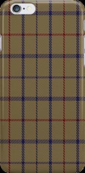 01776 Brooks Brothers Tattersall Camel Fashion Tartan Fabric Print Iphone Case by Detnecs2013