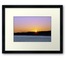 I'll Follow The Sun Framed Print