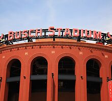 Busch Stadium - St. Louis Cardinals by Frank Romeo