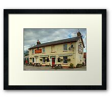 The Dog And Partridge,Great Leighs Framed Print