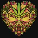 Love for Cannabis by Andrei Verner