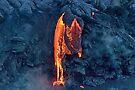Lava Flow at Kalapana 8 by Alex Preiss