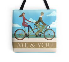 Me & You Bike Tote Bag