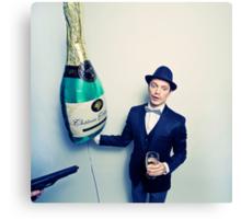 Champagne Mafia Canvas Print