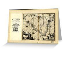 Brazil. 1671. Greeting Card