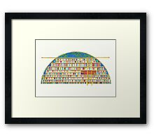 Library of My Dreams Framed Print