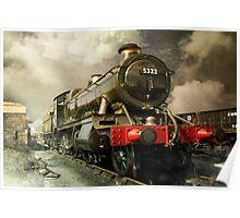 Steam Engine Poster