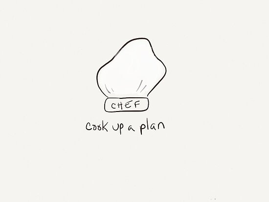 Cook Up A Plan by Pamela Shaw