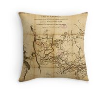 Canada. 1801. Throw Pillow