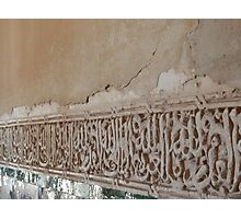Alhambra Detail Photographic Print