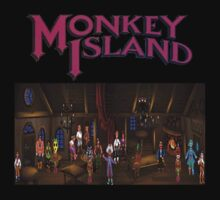 The Secret Of Monkey Island by Vinchtef