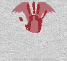 Castiel -  Handprint - Supernatural minimalist design by Hrern1313