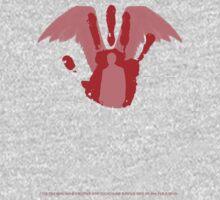 Castiel -  Handprint - Supernatural minimalist design by Hrern1313