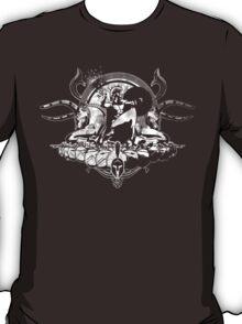 Spartan - White (Grunge Effect) T-Shirt