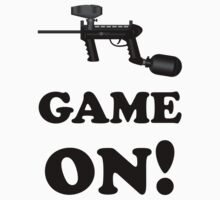Paintball. Game ON. BL. T-Shirt