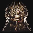 Iron Man on the iron throne by hunekune
