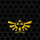 Triforce with background by Akoimi
