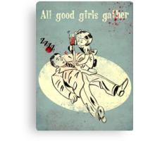 Bioshock - Good Girls Gather Canvas Print