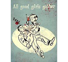 Bioshock - Good Girls Gather Photographic Print