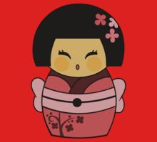Kokeshi Sakura Kids Clothes