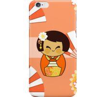 KOKESHI MOMO iPhone Case/Skin