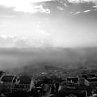 Lisbon - sea fog by thefifthAce