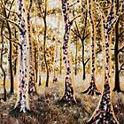 """""""THERE'S A LIGHT BEYOND THESE WOODS...""""  by Jerry Kirk"""