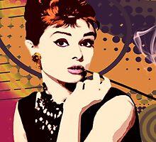 Audrey Hepburn by Brigitta Frisch