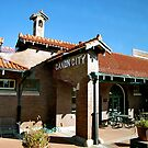 Canon City, CO-- R.R. Station by Nancy Richard