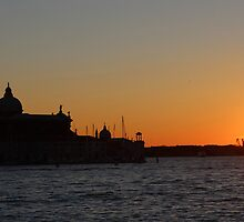 Sunset in Venice by Albo92