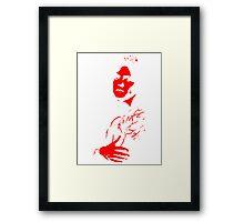 Marc Bolan 1977 Framed Print