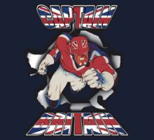 Captain Britain by marinasinger