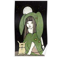 My Little Green Eyed Monster Poster