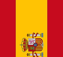 Iphone Case - Flag of Spain  by Mark Podger